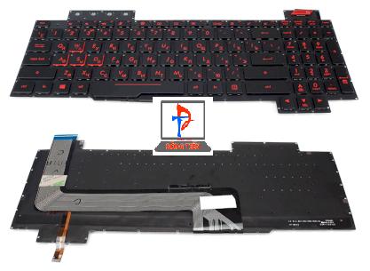Keyboard Asus FX503V FX503VD FX503VD-WH51 FX503VM FX503VM-EH73 Có Đèn