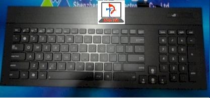 Keyboard Asus G74 ( Có đèn, có khung, có nút nguồn )