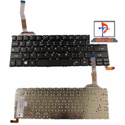 Keyboard Acer Aspire R13 R7-371 R7-371T Có Đèn Không Khung
