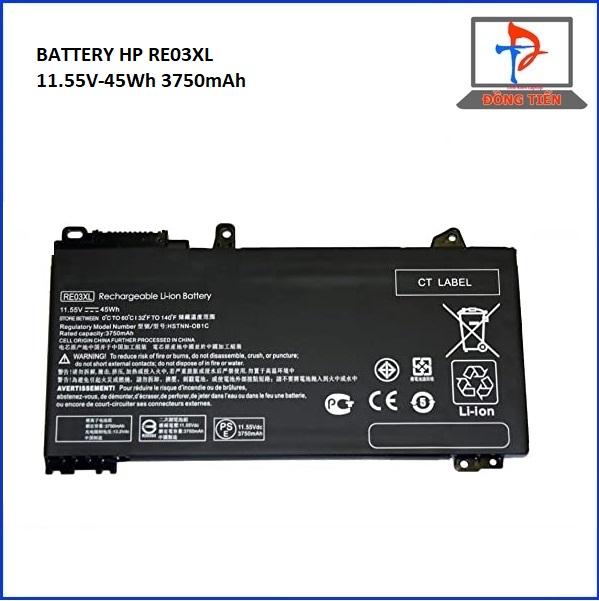 PIN LAPTOP HP PROBOOK 450 G6,440 G6, 430 G6 RE03XL ZIN