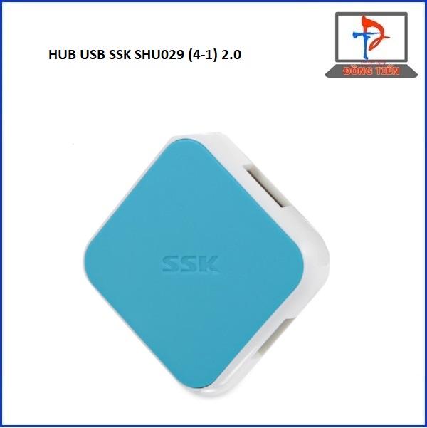 HUB USB SSK SHU029 (4-1) 2.0