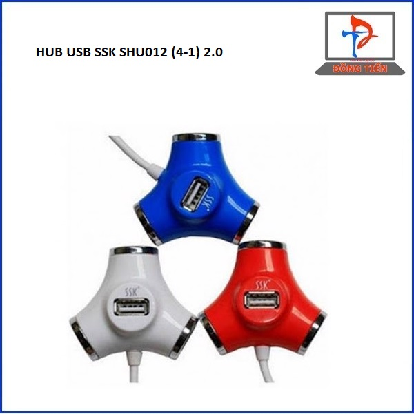 HUB USB SSK SHU012 (4-1) 2.0