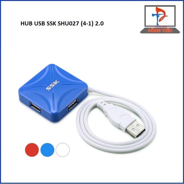 HUB USB SSK SHU027 (4-1) 2.0