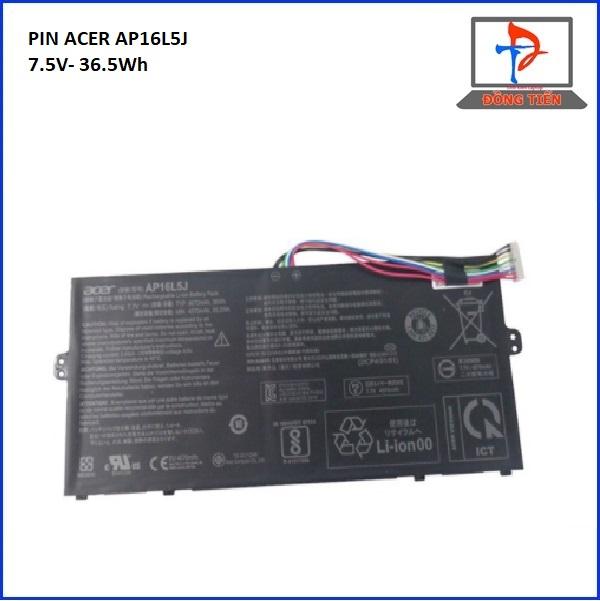 PIN ACER AP16L5J,SWIFT 5 SF514-52, Spin 1 SP111-32N