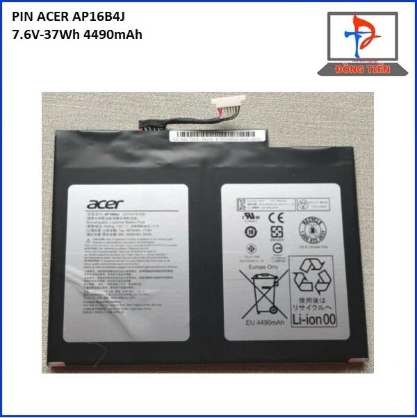PIN ACER SWITCH ALPHA12 N16P3 SA5-271 AP16B4J 7.6V-37Wh 4490mAh