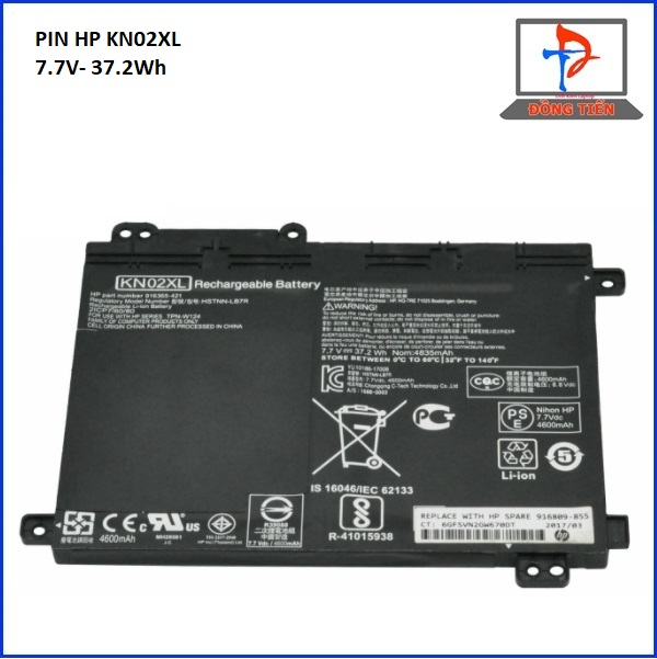 PIN HP KN02XL