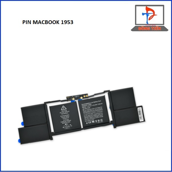 PIN APPLE MACBOOK PRO 15 ICNH A1990 2018-2019