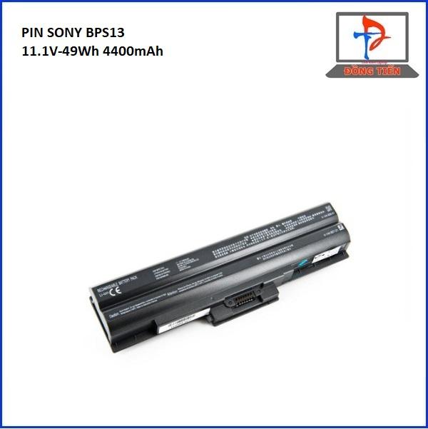 Pin laptop Sony Vaio BPS13