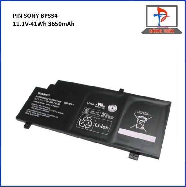 PIN SONY SVF14A,SVF15, SONY FIT,BPS34  (ZIN)