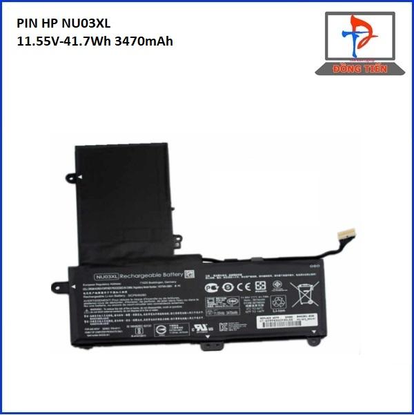 Pin Laptop Pavilion X360 11-U, NU03XL, UB6V ZIN