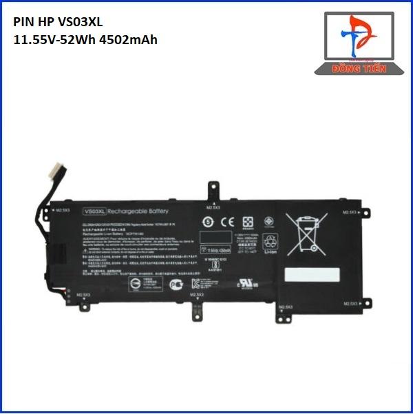 Pin HP Envy VS03, VS03XL, 15, 15-AS, 15T-AS, HSTNN-UB6Y(3CELL) ZIN