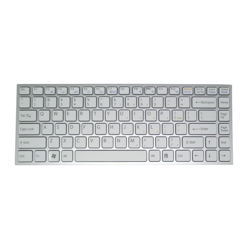Bàn phím Laptop Sony VPC-Y trắng