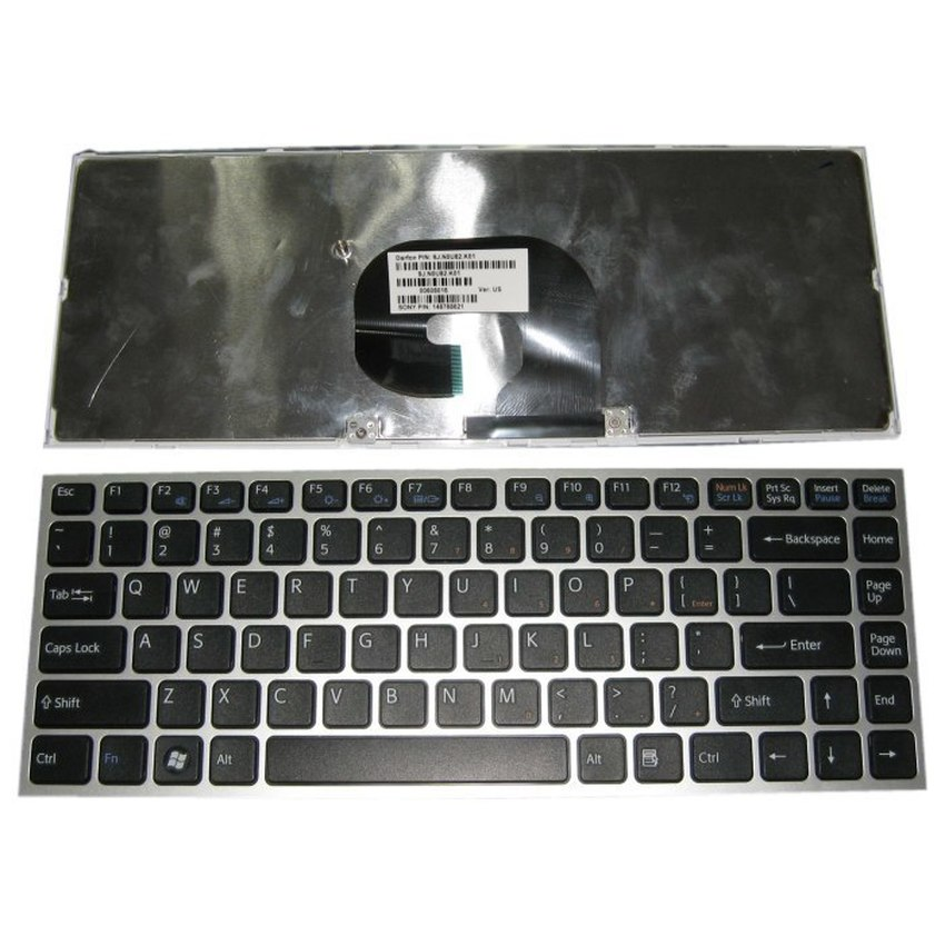 Bàn phím Laptop Sony VPC-Y đen