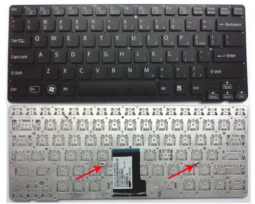 Bàn phím Laptop Sony VPC-P