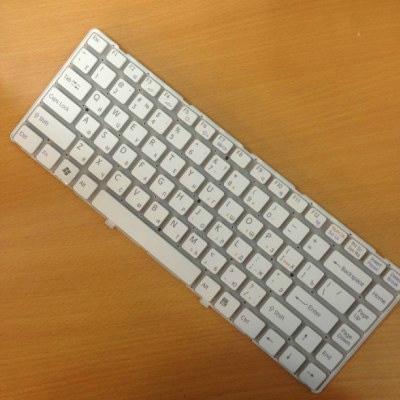 Bàn phím Laptop Sony SVP11 trắng