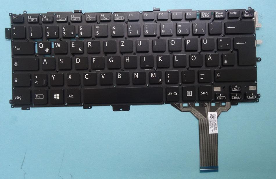 Bàn phím Laptop Sony SVP13 đen
