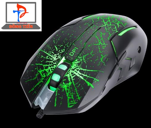 MOUSE MARVO M207 ĐEN LED