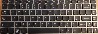 Keyboard Sony CA