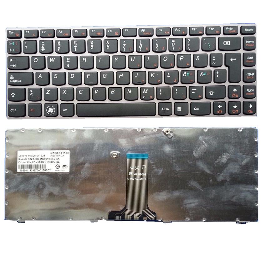 Bàn phím Laptop LENOVO Z470 G470 Z370