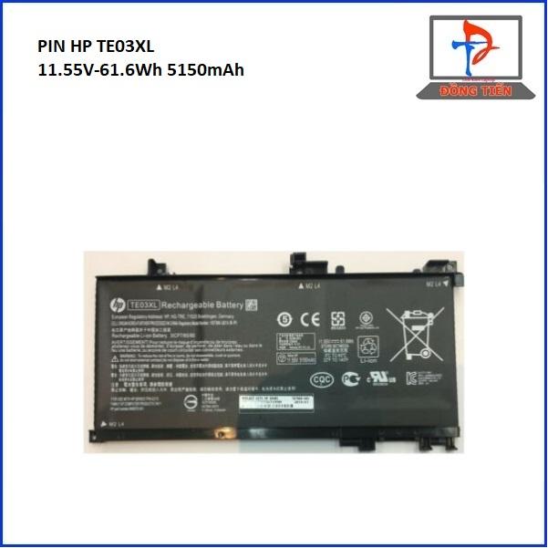 Pin Laptop HP Pavilion TE03XL HSTNN-UB7A, TPN-Q17315-BC, OMEN 15-AX, 15T-AX ZIN