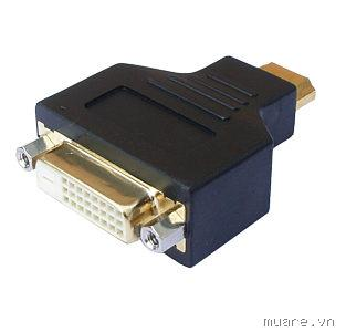 Đầu đổi  HDMI To DVI Female