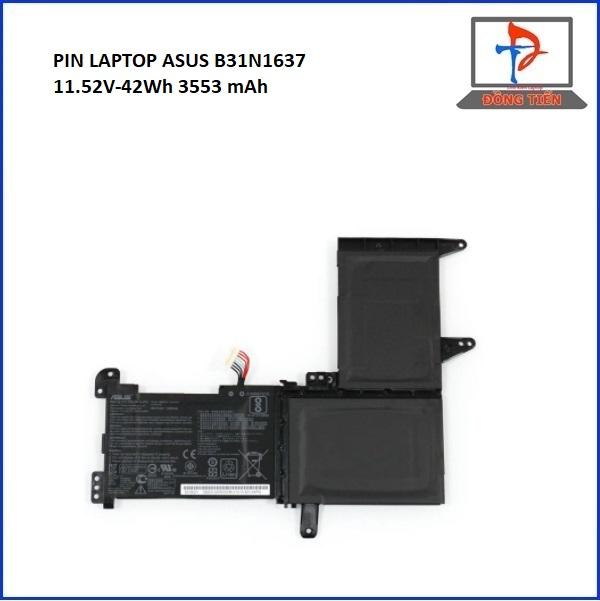 PIN ASUS X510U,X510,B31N1637,C31N1637,F510 ZIN