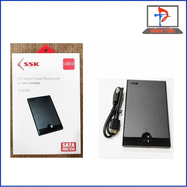 BOX HDD SSK SHE 090 2.5 CHUAN 3.0 SATA