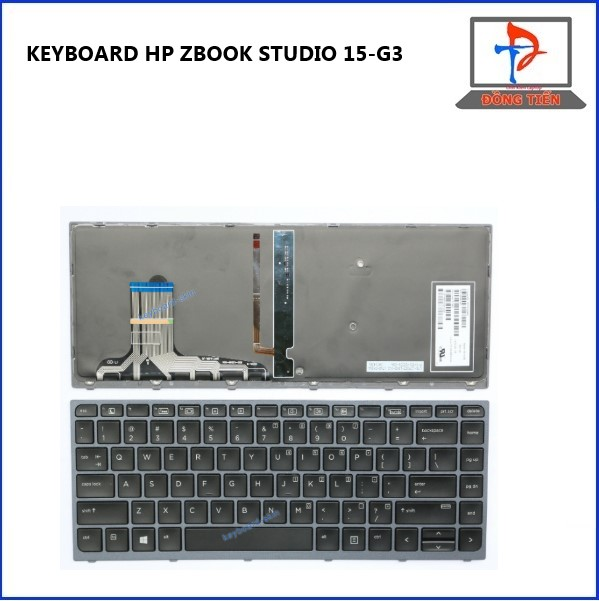 KEYBOARD HP ZBOOK STUDIO 15-G3 LED ZIN