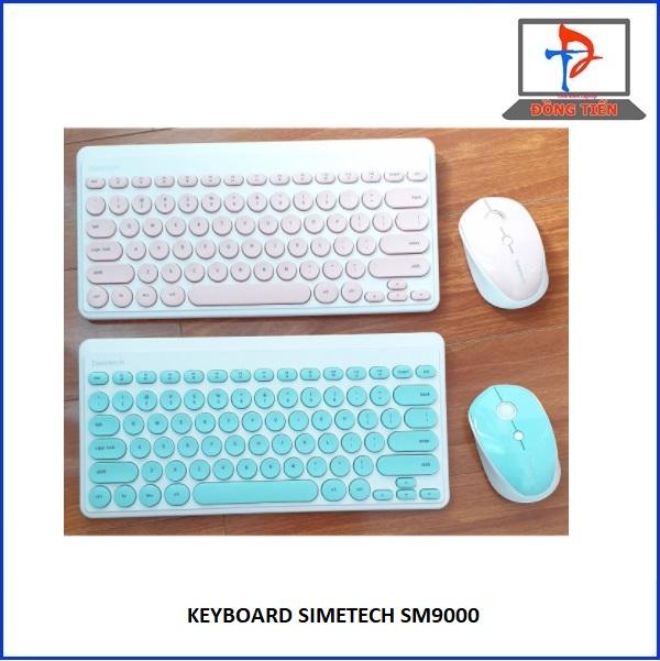 KEYBOARD SEMETECH KHÔNG DÂY SM9000