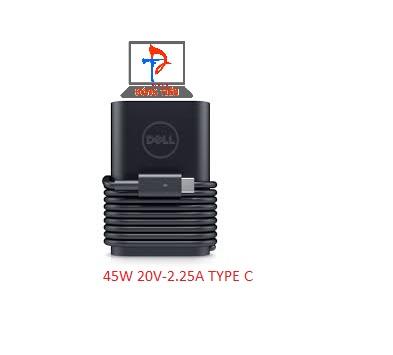 SẠC DELL 45W TYPE C ZIN  20V-2.25A ZIN