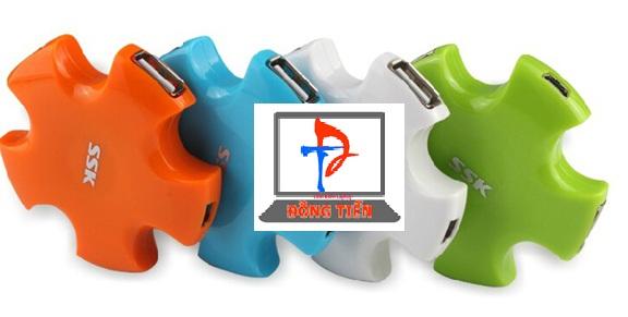HUB USB SSK SHU024 (4-1) 2.0