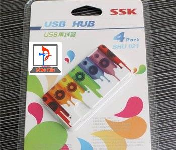 HUB USB SSK SHU021 (4-1) 2.0
