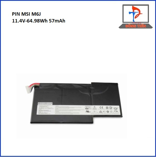 PIN LAPTOP MSI M6J GS63 GS73 GS72 ZIN