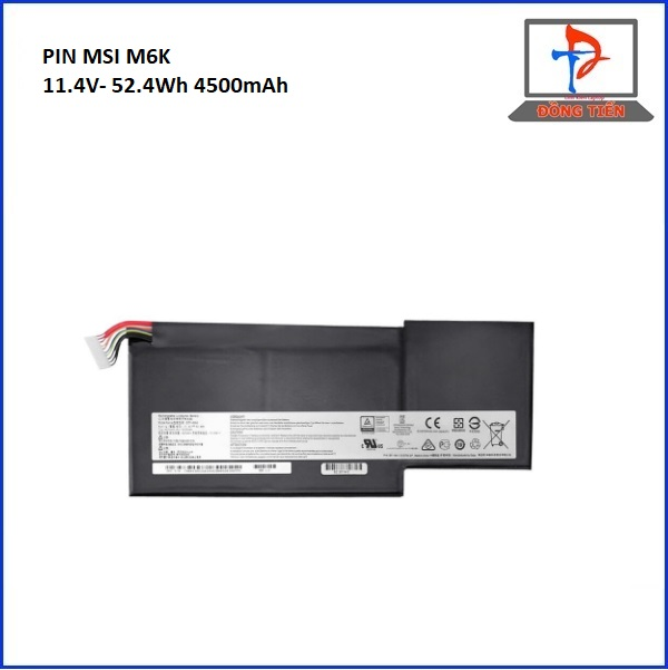 PIN LAPTOP MSI M6K,GS63,GS73,GF63,GF75 ZIN 3CELL