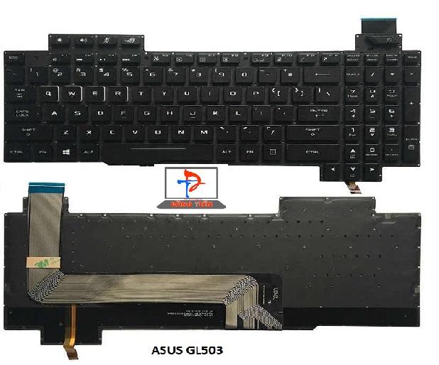 KEYBOARD ASUS ROG GL703,GL503
