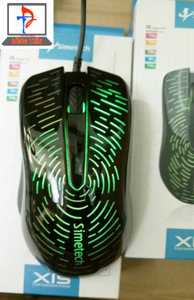 Mouse Simetech có dây X1S có led