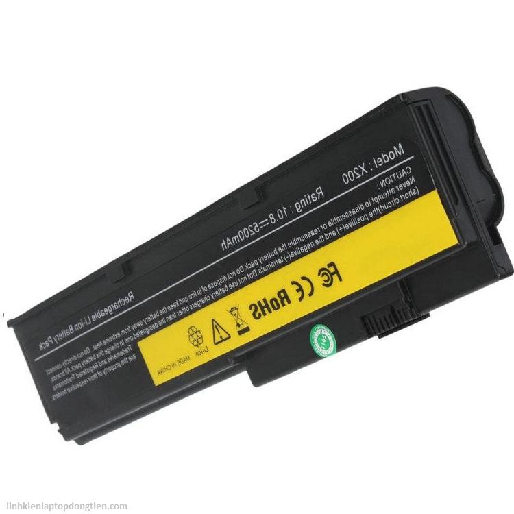 Pin Laptop Lenovo X200 (4 CELL) ĐEN