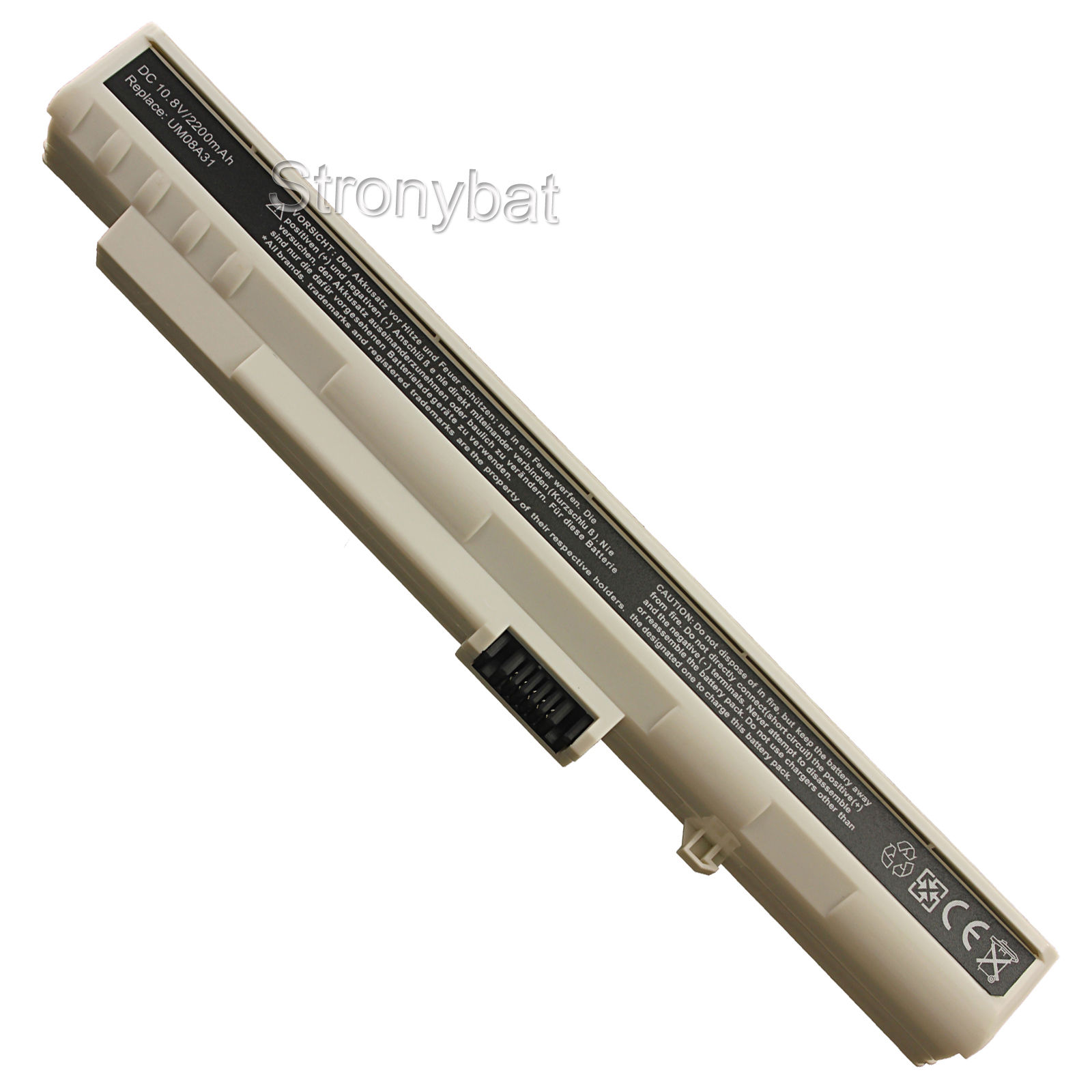 PIN LAPTOP ACER ONE A0A110 A110 A150 AOA150 D250 KAV10 KAV60 ZG5 TRẮNG 6 CELL